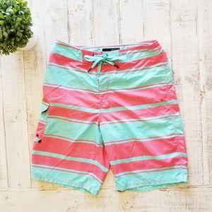 Nike 6.0 Swim Trunk Shorts Striped